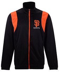 G-III Sports Men's San Francisco Giants Clutch Track Jacket