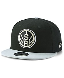 San Antonio Spurs Basic 2 Tone 9FIFTY Snapback Cap