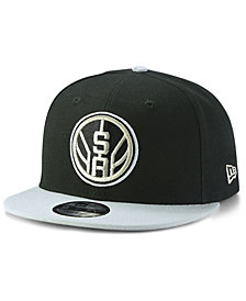 New Era San Antonio Spurs Basic 2 Tone 9FIFTY Snapback Cap