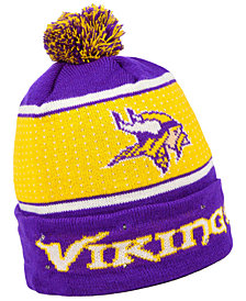 Forever Collectibles Minnesota Vikings Big Logo Light Up Knit Hat