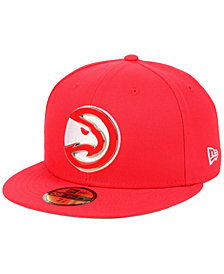 New Era Atlanta Hawks Metal Mash Up 59FIFTY-FITTED Cap