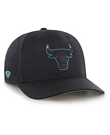 '47 Brand Chicago Bulls Diamond Blue MVP DP Cap