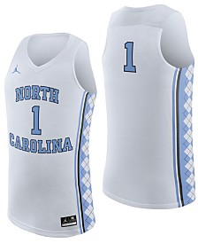Nike North Carolina Tar Heels Replica Basketball Jersey, Big Boys (8-20)