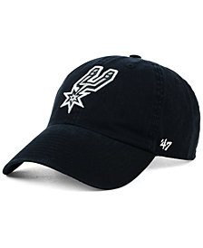 '47 Brand Women's San Antonio Spurs Glitta CLEAN UP Strapback Cap
