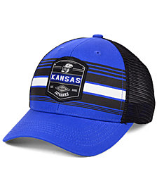 d12728cd5c1 Top of the World Kansas Jayhawks Branded Trucker Cap