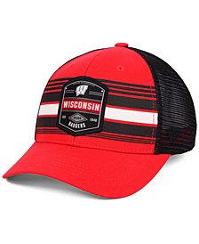 Top of the World Wisconsin Badgers Branded Trucker Cap