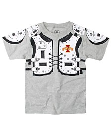 Wes & Willy Iowa State Cyclones Shoulder Pads T-Shirt, Toddler Boys (2T-4T)