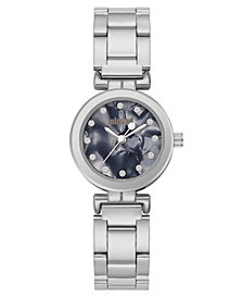 Unlisted Ladies Silvertone Alloy Sport Watch, 25MM