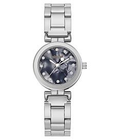 Unlisted Ladies Silvertone Alloy Sport Watch, 25MM