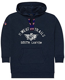 Polo Ralph Lauren Big Girls Graphic Hoodie