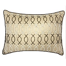 Celebrations Pillow Two-Tone Lattice Beading
