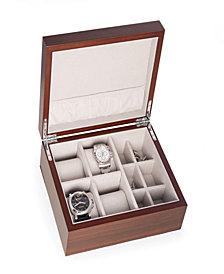 4 Watch and 6 Cufflink Storage Box
