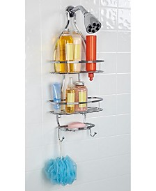 Bath Bliss Triple Wire Shower Caddy