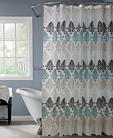 Shower Curtain in Paisley Design