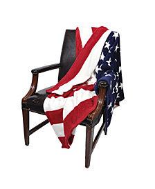 Sleeping Partners USA Flag Fleece Blanket