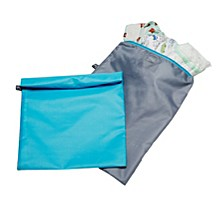 J.L. Childress Wet-to-Go Wet Bags, 2 Pack