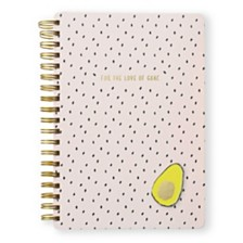 "Mara-Mi ""For the Love of Guac"" Large Spiral Notebook"
