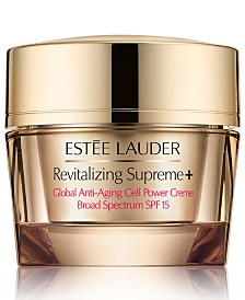 Estee Lauder Revitalizing Supreme+ Global Anti-Aging Cell Power Creme SPF 15, 2.5 oz.