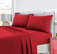 Super Soft Solid DP Easy-Care Extra Deep Pocket Twin Sheet Set