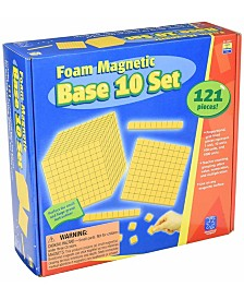 Educational Insights Foam Magnetic Base 10 Set 121 Pieces