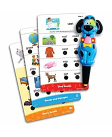 Educational Insights Hot Dots Jr Phonics Fun Set With Ace Pen
