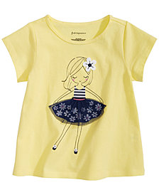 First Impressions Baby Girls Skirt-Print T-Shirt, Created for Macy's