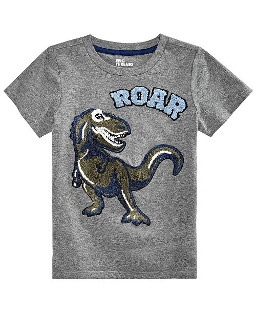 b33db8c3997e Epic Threads Little Boys Graphic-Print T-Shirt, Created for Macy's ...