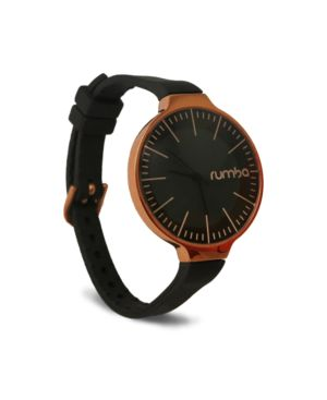 RUMBATIME Rumbatime Orchard Gold Lights Out Black Women'S Watch