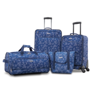 American Tourister FieldBrook Xlt 4PC Printed Luggage Set