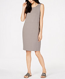 Eileen Fisher Tencel® Crewneck Dress