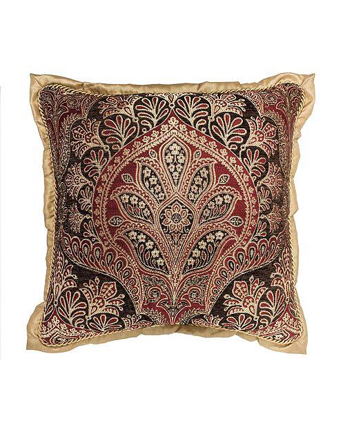Croscill Roena Square Decorative Pillow