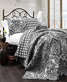 Aubree 3-Pc Set Full/Queen Quilt Set