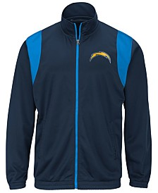 G-III Sports Men's Los Angeles Chargers Clutch Time Track Jacket