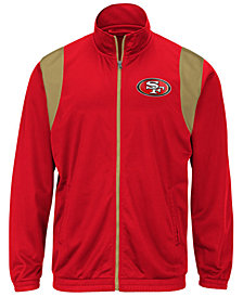 G-III Sports Men's San Francisco 49ers Clutch Time Track Jacket