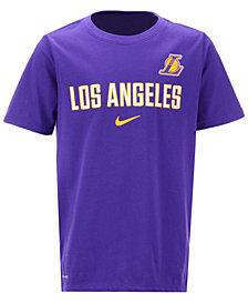 Nike Los Angeles Lakers Facility T-Shirt, Big Boys (8-20)