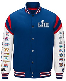 G-III Sports Men's Super Bowl LIII Home Team Varsity Jacket