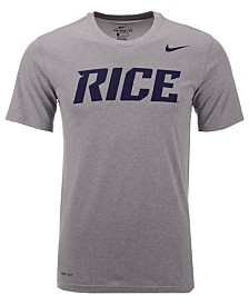 Nike Men's Rice Owls Dri-Fit Legend Wordmark T-Shirt