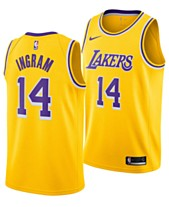 new product 62444 76fd2 Nike Men s Brandon Ingram Los Angeles Lakers Icon Swingman Jersey