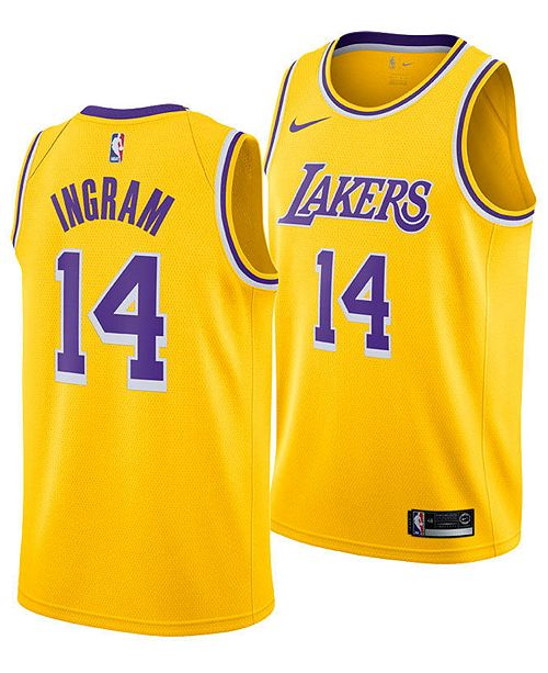 b7c270eb1d3 ... Nike Men s Brandon Ingram Los Angeles Lakers Icon Swingman Jersey ...