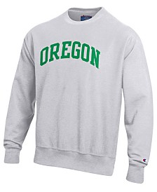 Champion Men's Oregon Ducks Reverse Weave Crew Sweatshirt