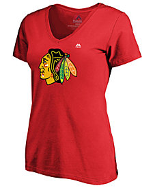 Majestic Women's Chicago Blackhawks Primary Logo T-Shirt