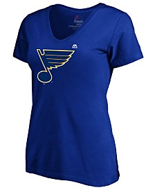 Majestic Women's St. Louis Blues Primary Logo T-Shirt