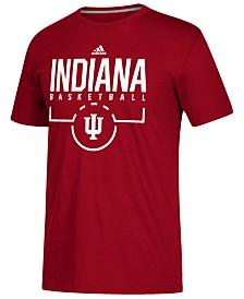 adidas Men's Indiana Hoosiers On Court Practice T-Shirt