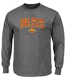 Men's Big & Tall Iowa State Cyclones Wordmark Long Sleeve T-Shirt