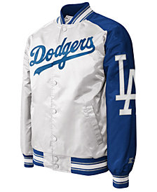 G-III Sports Men's Los Angeles Dodgers Dugout Starter Satin Jacket II