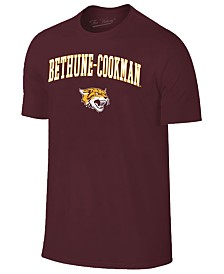 Retro Brand Men's Bethune Cookman University Wildcats Midsize T-Shirt
