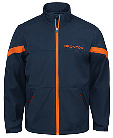G-III Sports Men's Denver Broncos The Franchise Player Front Zip Jacket