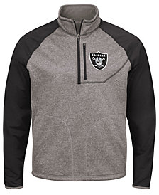 G-III Sports Men's Oakland Raiders Mountain Trail Player Lightweight Jacket