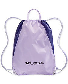 Receive a FREE Wacoal Sport Drawstring Backpack with a $60 regular price purchase from the Wacoal Sport Collection