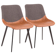 Lumisource Outlaw TwoTone Chair Set of 2
